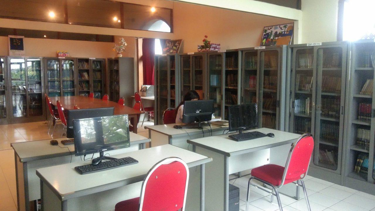 Ruang Perpustakaan terkini